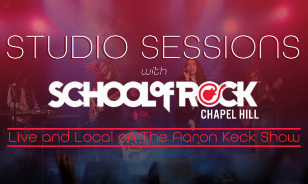 Studio Sessions with the School of Rock Chapel Hill – Going Virtual