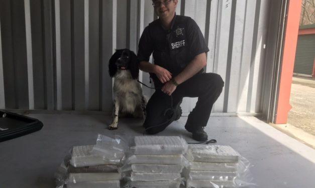 Durham Co. K9 Sniffs Out 13 Kilos of Cocaine