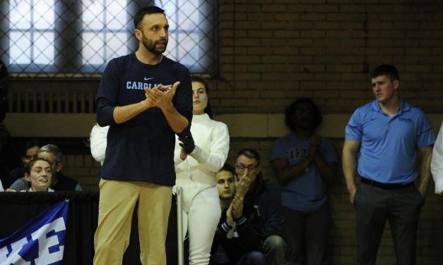 Matt Jednak Named ACC Women's Fencing Coach of the Year