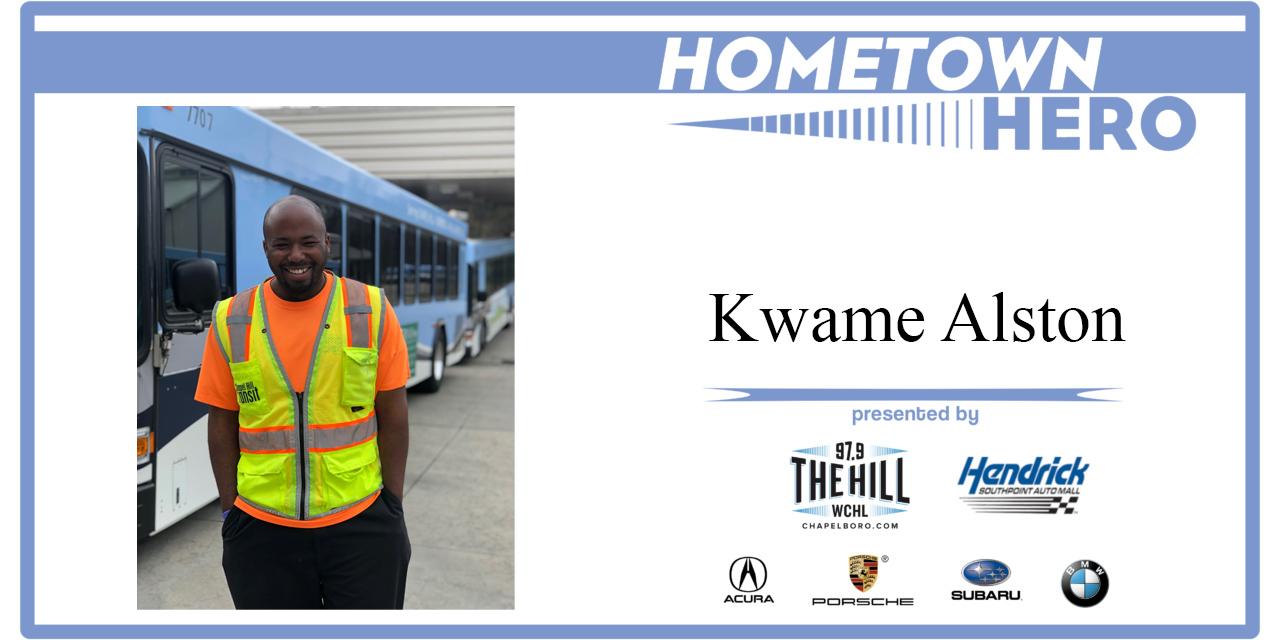 Hometown Hero: Kwame Alston