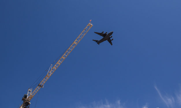 Photo Gallery: NC National Guard C-17 Flyover in Chapel Hill