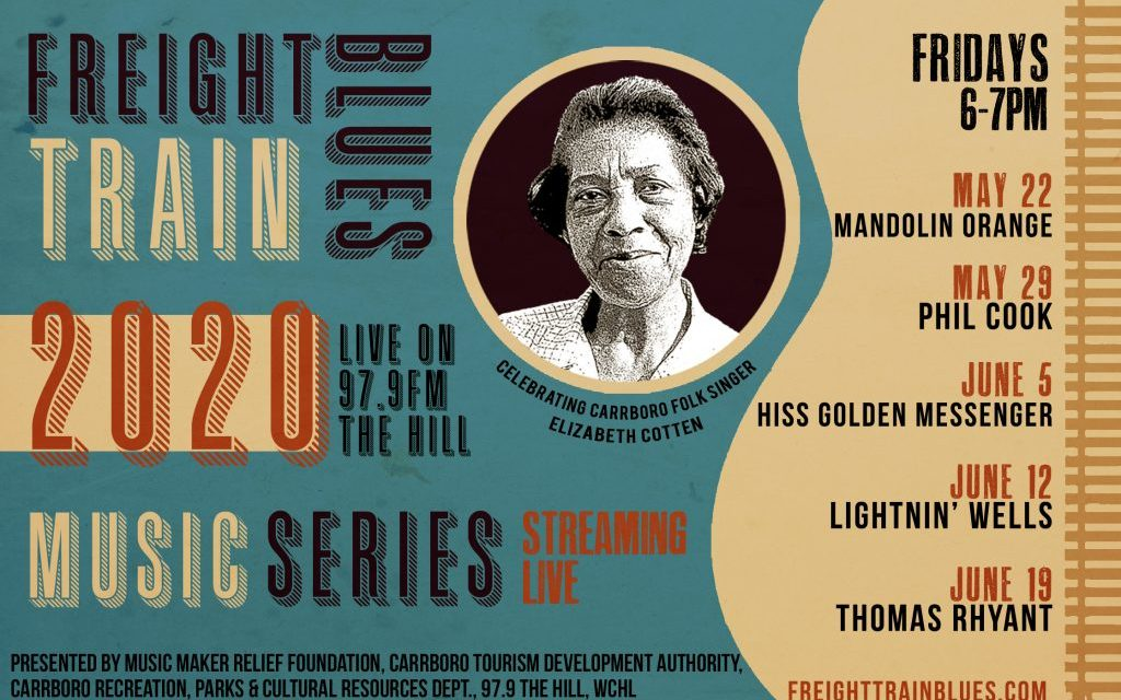 Carrboro's Freight Train Blues Series to Continue in 2020 With Broadcast Concerts
