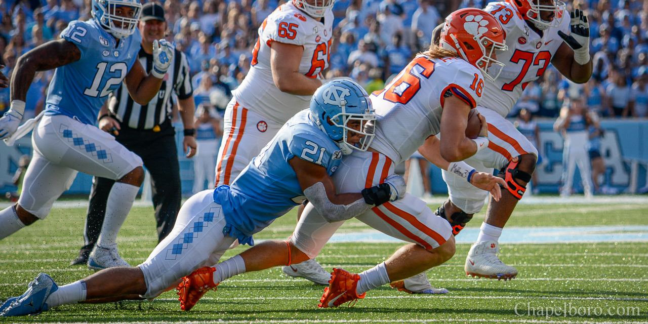 Espn Ranks Chazz Surratt As No 12 Most Exciting College Football Player To Watch In 2020 Chapelboro Com