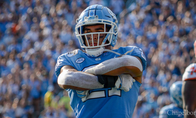 Chazz Surratt Named ACC Linebacker of the Week