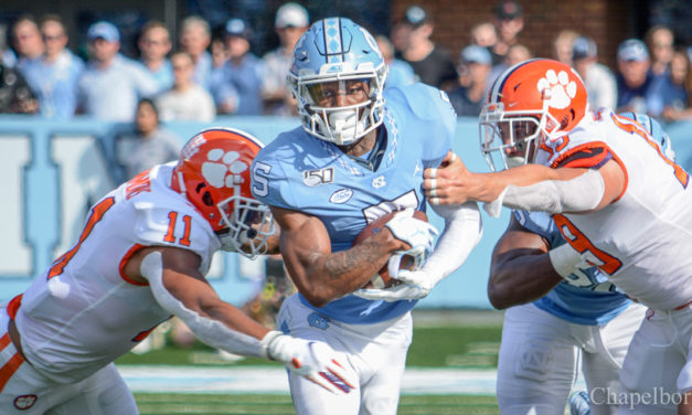 UNC Wide Receivers Aiming to be Nation's Best in 2020