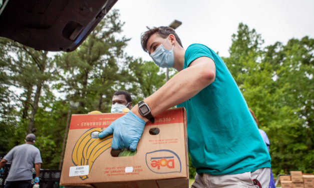 Chapel Hill Food Bank Moves from Public Library to Eubanks Road Parking Lot