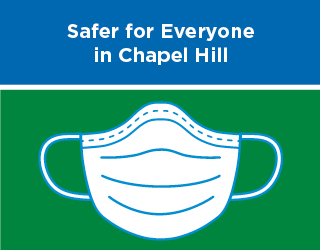 Chapel Hill Mayor Launches Mask Campaign, Town to Distribute Free Coverings
