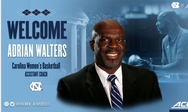 Adrian Walters Hired as UNC Women's Basketball Assistant Coach