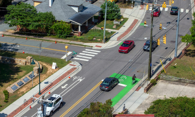 Sidewalk Construction on North Graham Street, Roberson Street in Chapel Hill to Start Monday