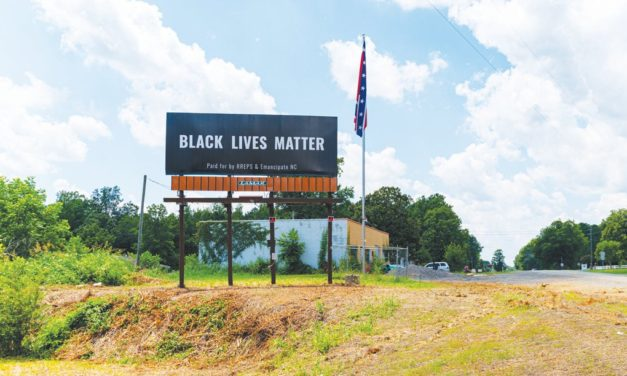 BLM Billboard Next to Confederate Flag to Be Removed