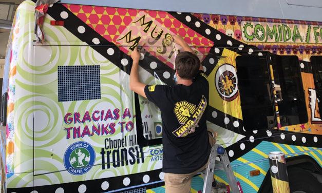Chapel Hill Transit Unveils Latinx Pride Bus