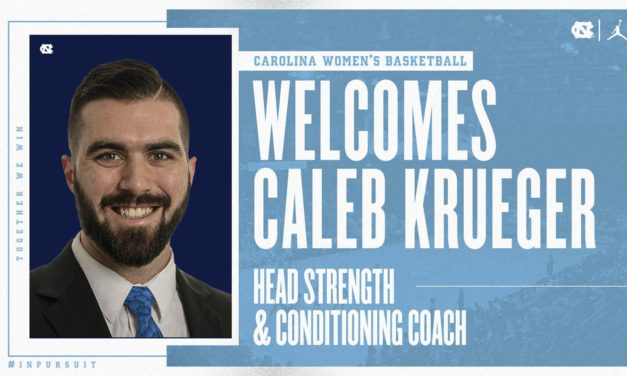 UNC Women's Basketball Hires Caleb Krueger as Head Strength and Conditioning Coach