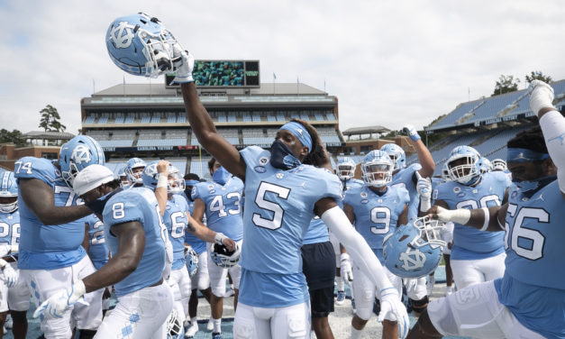 UNC Moves Up Six Spots to No. 12 in AP College Football Top 25
