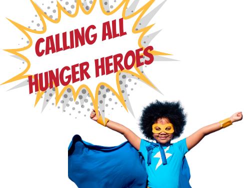 CORA Kicks Off 'Hunger Heroes' Food Drive This October