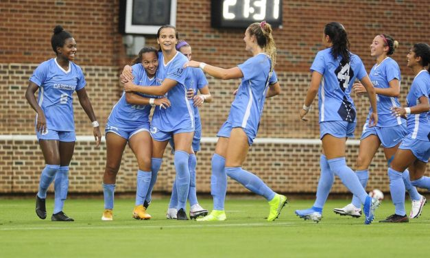 Women's Soccer: UNC Opens Season With Dominant Win Over Wake Forest