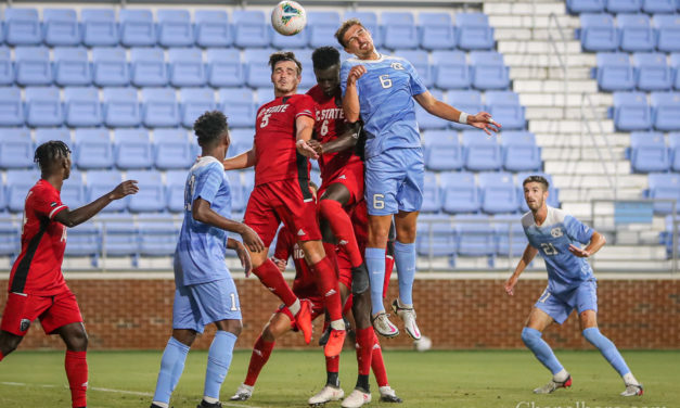 Photo Gallery: UNC Men's Soccer Defeats NC State in Preseason Scrimmage
