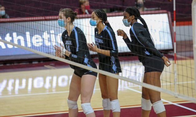 UNC Volleyball Opens Season by Splitting Pair of Matches at Virginia Tech