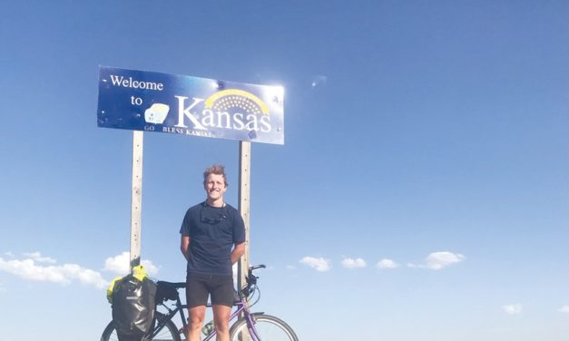 How Pittsboro's Jesse Greenlee Pulled off a 73-Day Cross-Country Cycling Trip