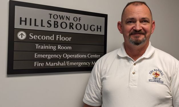 Hillsborough Fire Marshal Retires After 15 Years of Services