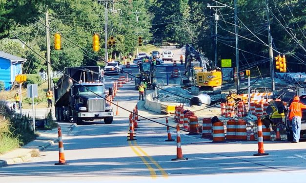 Accident Involving Power Line Causes Outage for 2K, Closes Carrboro Intersection
