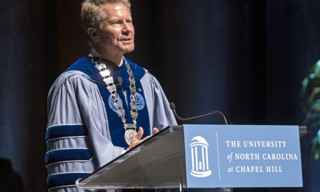 UNC Chancellor Guskiewicz Promises Collaboration, Consultation at Installation Ceremony