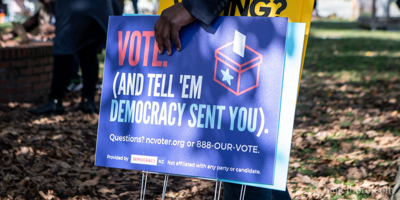 Chapel Hill-Carrboro NAACP Rallies to Promote Early Voting