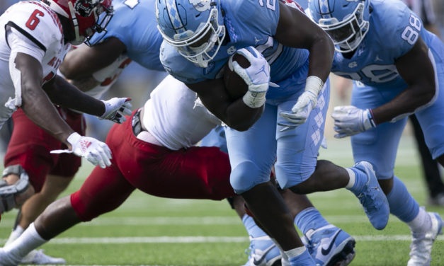 No. 14 UNC Imposes Its Will, Rolls to 48-21 Blowout Victory Over No. 23 NC State