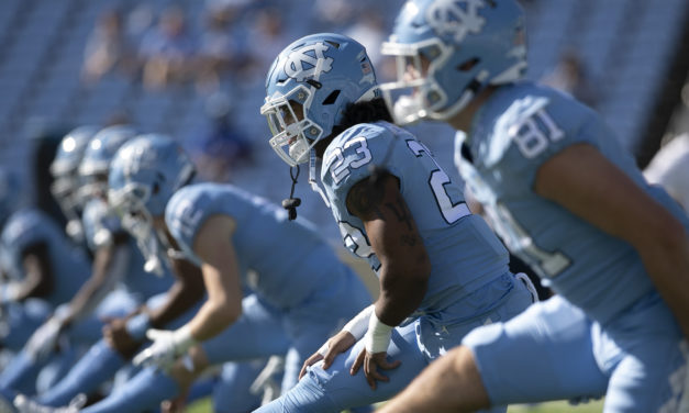UNC Drops One Spot to No. 15 in AP College Football Top 25