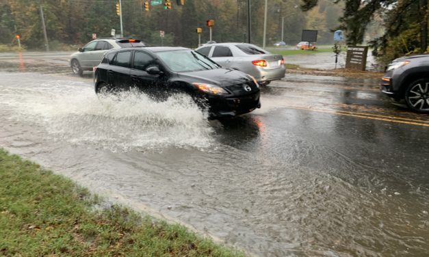 Rain Brings Flooding to Orange, Chatham Counties on Thursday