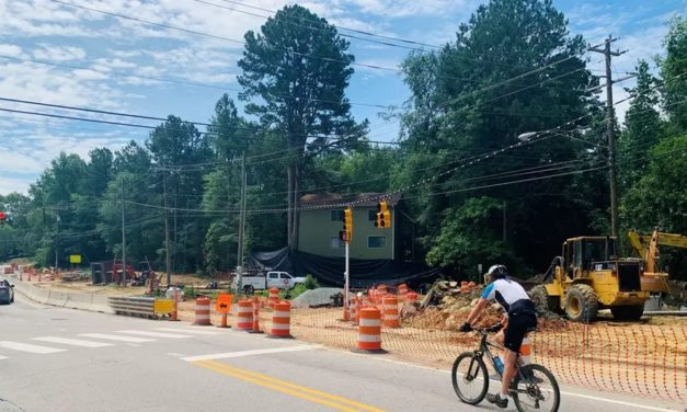 Google Fiber Installation to Cause Lane Closures at Carrboro Intersection