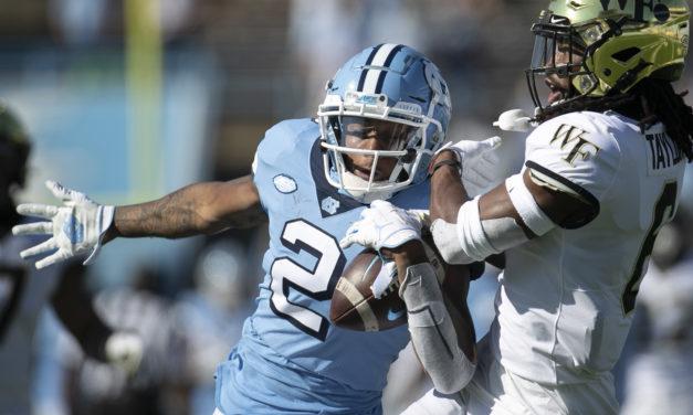 Washington Football Team Selects Dyami Brown in Third Round of NFL Draft