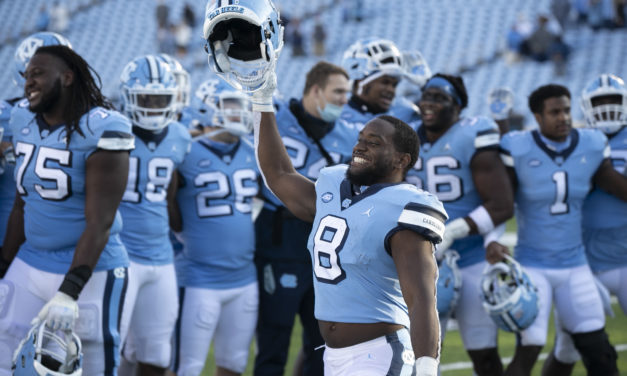 UNC Football Ranked No. 25 in Latest AP College Football Poll