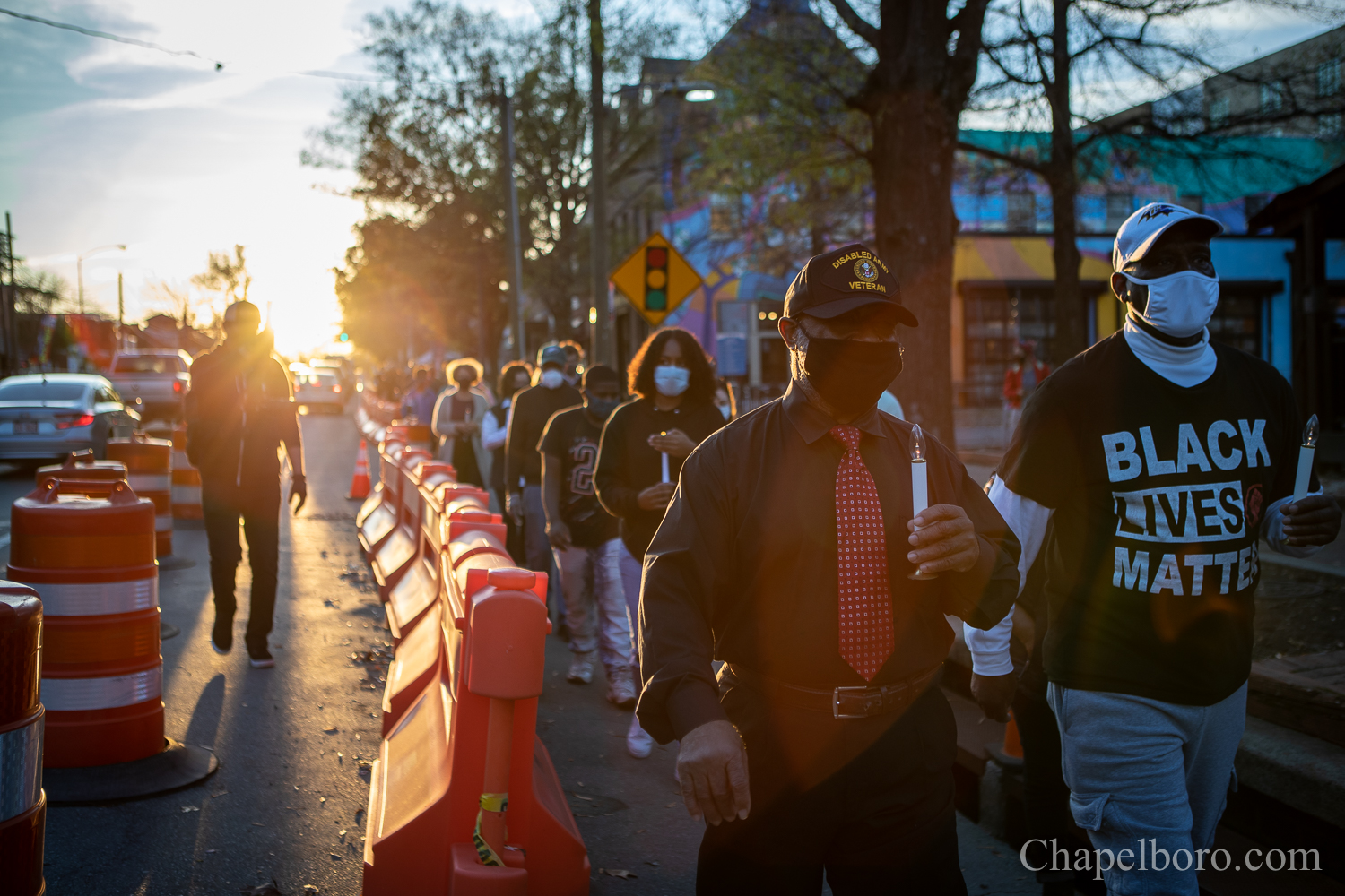 Family, Community Members March to Remember James Cates 50 Years Later