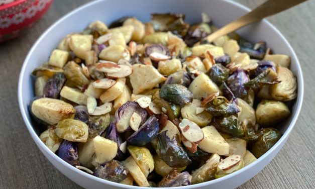 Holiday Highlights Recipe #3: Honey Roasted Parsnips and Brussels Sprouts