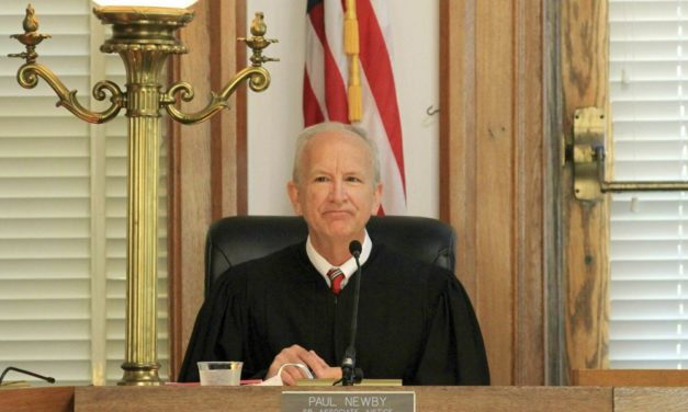 Newby Takes Oath as 30th NC Supreme Court Chief Justice