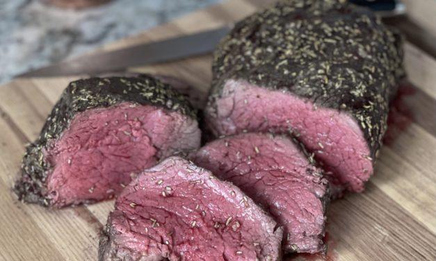Holiday Highlights Recipe #4: Beef Tenderloin With Horseradish Cream