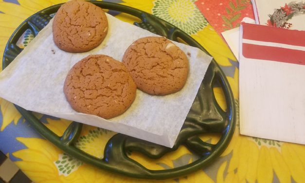 Just The Bill, Please: A Sentimental Season and Toaster Oven Ginger Snaps