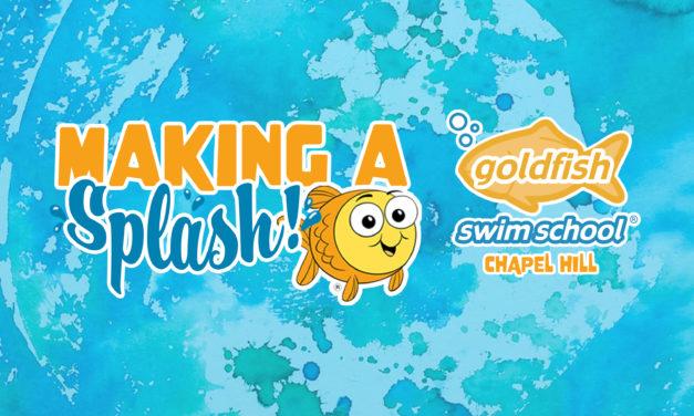 'Making a Splash' with Goldfish Swim School