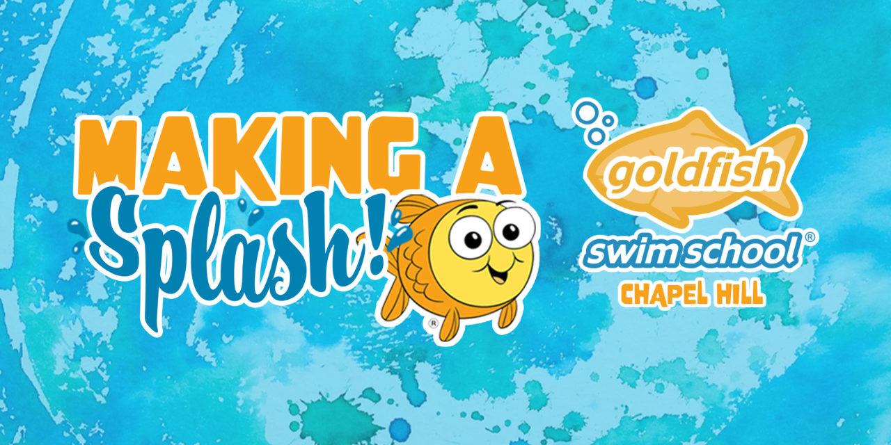 'Making a Splash' with Goldfish Swim School: Tropical Escape