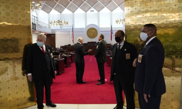 NC Legislative Session Opening Subdued Amid Virus Worries