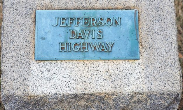 'There Is No Timeline': Jefferson Davis Hwy. Marker To Be Removed, Eventually