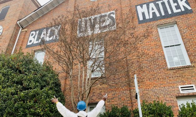 Carrboro BLM Mural Artists to Be Recognized at Town Council Meeting