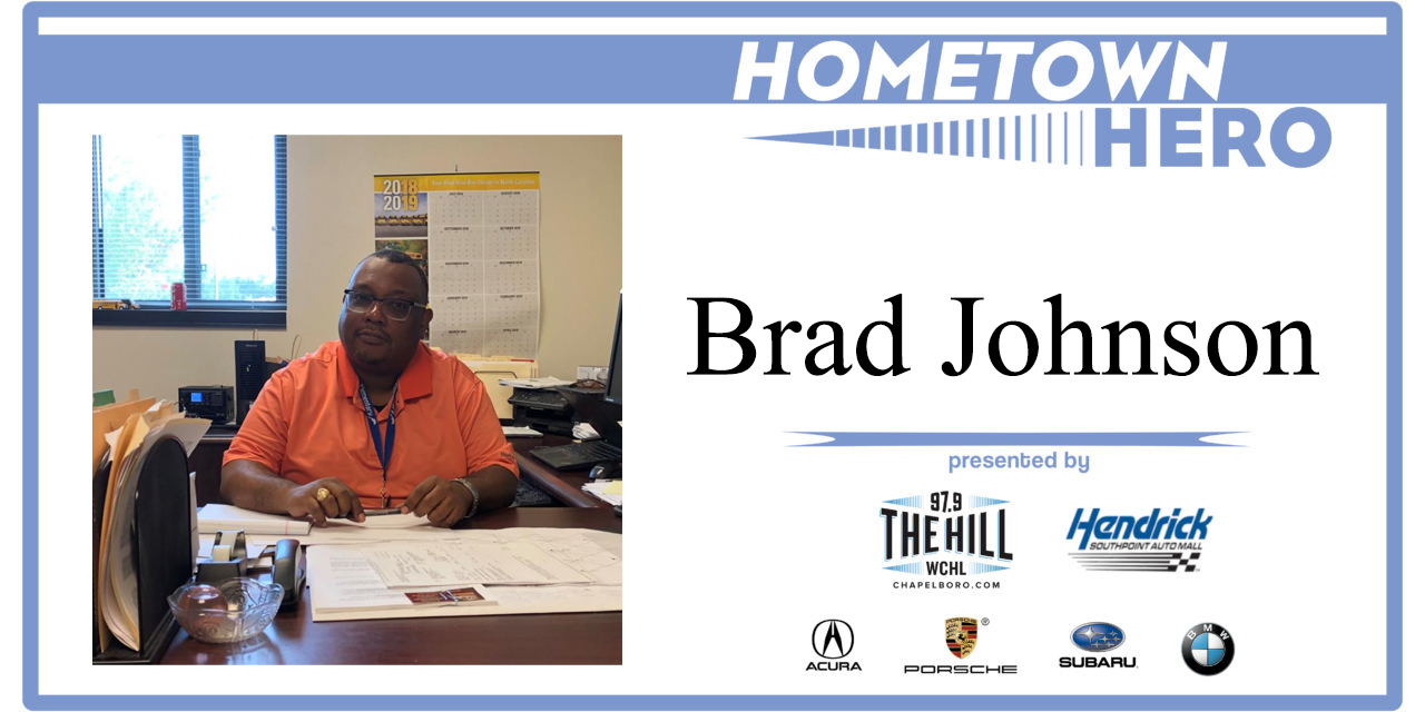 Hometown Hero: Brad Johnson from Chapel Hill-Carrboro City Schools