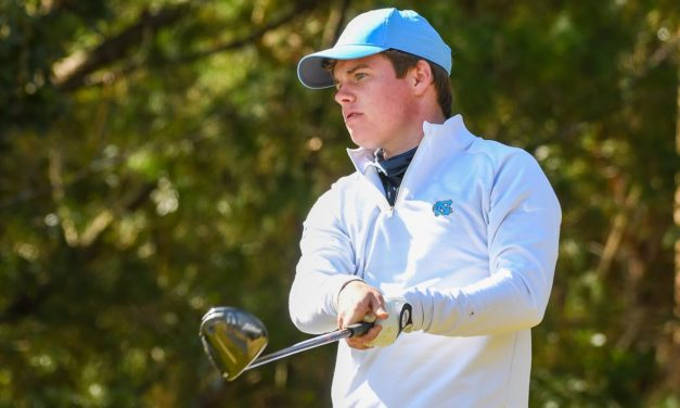 Peter Fountain Named ACC Men's Golf Freshman of the Year, 3 Heels Named to All-ACC