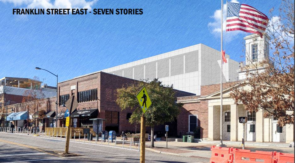 Town of Chapel Hill Discusses Height, Design of E. Rosemary Street Development