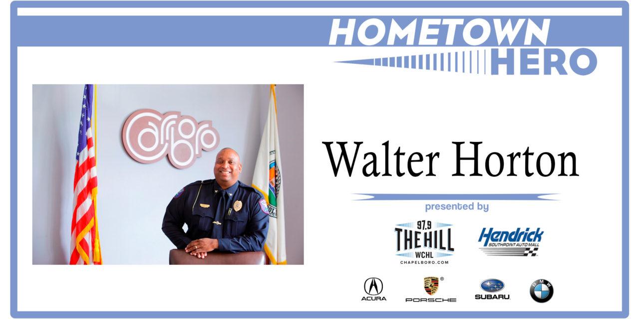 Hometown Hero: Carrboro Police Chief Walter Horton