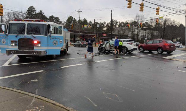 Car Crash at Estes Drive, East Franklin Street Delays Chapel Hill Morning Traffic