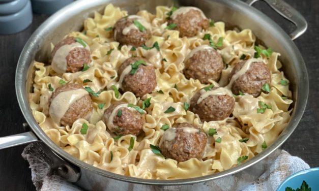 Make It Snappy: Swedish Meatballs