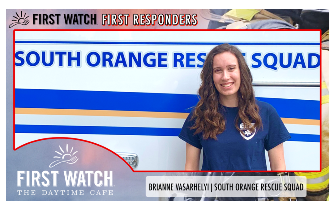 First Watch First Responders: Brianne Vasarhelyi from South Orange Rescue Squad