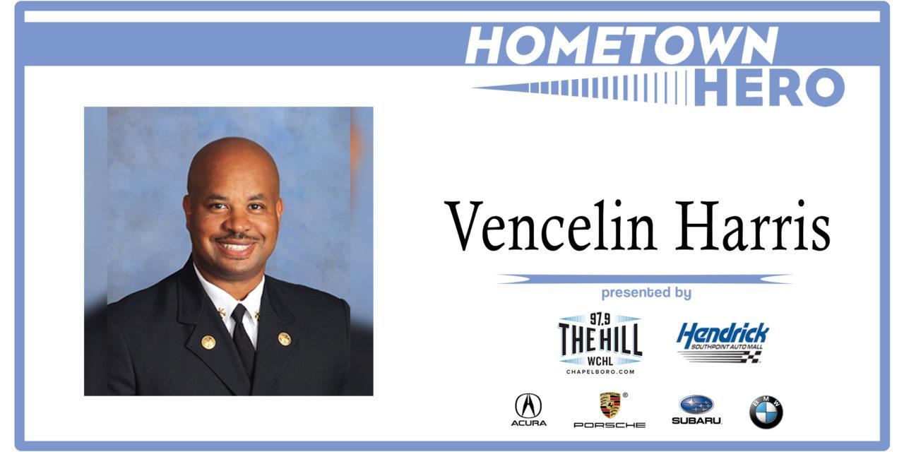 Hometown Hero: Chapel Hill Fire Chief Vencelin Harris
